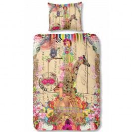 Bavlnené obliečky na jednolôžko Melli Mello Parie, 140 x 200 cm