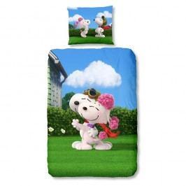 Bavlnené obliečky Muller Textiels Snoopy, 135 x 200 cm