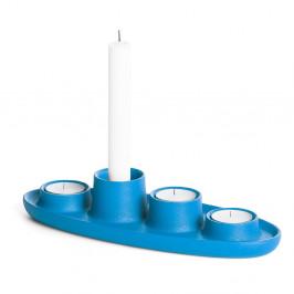 Modrý svietnik EMKO Aye Aye Four Candles