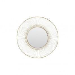 Zrkadlo s rámom v striebornej farbe Kare Design Storm Silver, ⌀ 93 cm