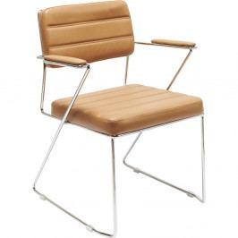 Hnedá stolička Kare Design Dottore Brown