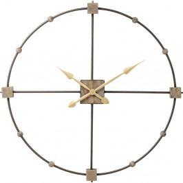 Nástenné hodiny Kare Design Clock Beam, ⌀ 85cm