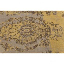 Koberec Kare Design Kelim Pop Yellow, 300×200 cm
