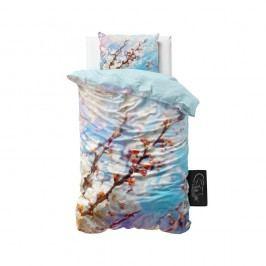 Obliečky z mikroperkálu Sleeptime Blossom, 140 x 220 cm