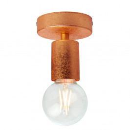 Stropné svietidlo v medenej farbe Bulb Attack Cero Lungo