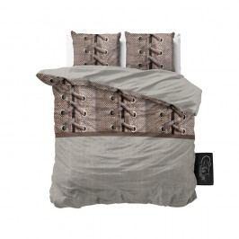 Obliečky z mikroperkálu Sleeptime Laces, 160 x 200 cm