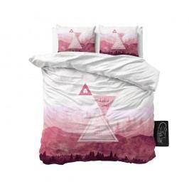 Obliečky z mikroperkálu Sleeptime Let's Stay, 200 x 220 cm