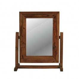 Zrkadlo na stojane s rámom z palisandrového dreva Massive Home Irma