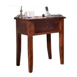 Odkládací stolík z palisandrového dreva Massive Home Manna