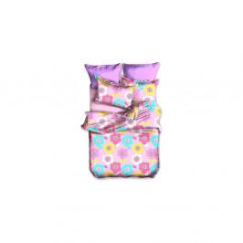 Obliečky z mikrovlákna na jednolôžko DecoKing Basic Teddy, 135 × 200 cm