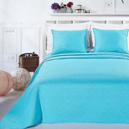 Tyrkysová posteľná sada z mikrovlákna DecoKing Elodie, 170 x 210 cm