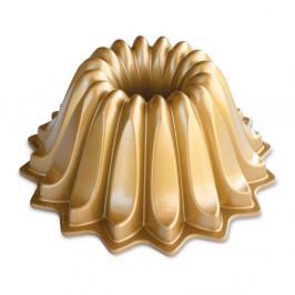 Forma na bábovku v zlatej farbe Nordic Ware Lotus, 1,2 l