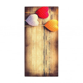Vysokoodolný kuchynský koberec Webtappeti Sweethearts, 60×140cm