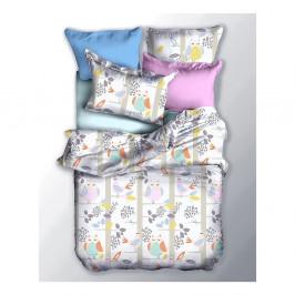 Obojstranné obliečky z mikrovlákna DecoKing Basic Sowa, 200x220cm