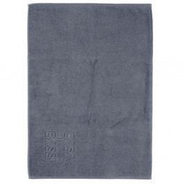 Tmavosivá bavlnená kúpeľňová predložka CasaDiBassi Basic, 50×70cm