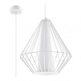 Biele stropné svetlo Nice Lamps Alfredo