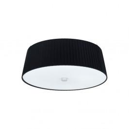 Čierne stropné svietidlo Sotto Luce KAMI, Ø36 cm