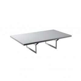 Biely konferenčný stolík Custom Form Longo