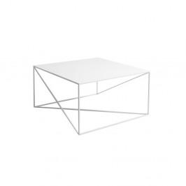 Biely konferenčný stolík Custom Form Memo, šírka 80 cm