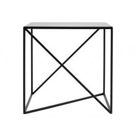 Čierny odkladací stolík Custom Form Memo