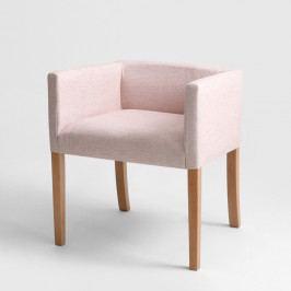 Ružové kreslo Custom Form Wilton