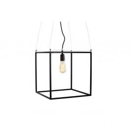 Čierne závesné svetlo Custom Form Metric