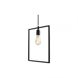 Čierne závesné svetlo Custom Form Quado