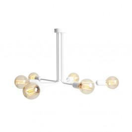 Biele závesné svetlo pre 6 žiaroviek Custom Form Vanwerk