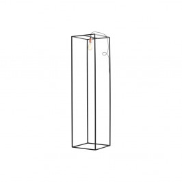 Čierna stojacia lampa Custom Form Metric, šírka 35 cm