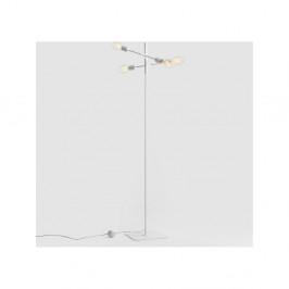 Biela stojacia lampa pre 4 žiarovky Custom Form Twigo