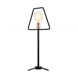 Čierna stolová lampa Custom Form Bullet