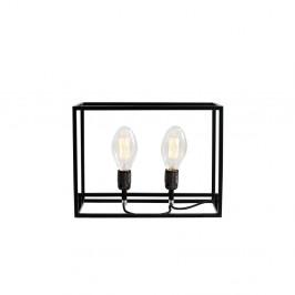 Čierna stolová lampa Custom Form Metric