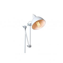 Biela nástenná lampa Custom Form Coben