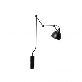 Čierna nástenná lampa Custom Form Coben