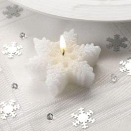 Sada 3 sviečok Neviti Snowflake