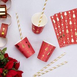 Sada 8 papierových pohárikov Neviti Dazzling Christmas