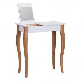 Biely toaletný stolík sozrkadlom Ragaba Dressing Table,dĺžka65cm