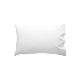 Biela bavlnená obliečka na vankúš Happy Friday Basic, 40x60cm