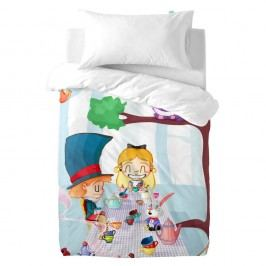 Detské bavlnené obliečky na paplón a vankúš Mr. Fox Wonderland, 100×120cm