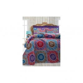 Ľahká prikrývka na posteľ Ornament Purple,200x235cm