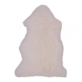 Biela ovčia kožušina House Nordic, 50 × 85 cm