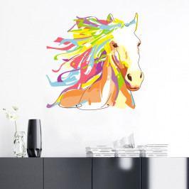 Samolepka Ambiance Pop Art Cheval, 60×60 cm