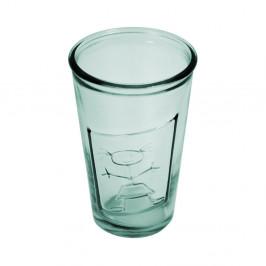 Číry pohár z recyklovaného skla Esschert Design Holka