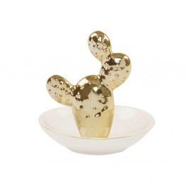 Dekoratívna mištička Sass & Belle Gold Cactus