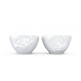 Sada 2 bielych šťastných šálok 58 products