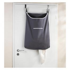 Sivý závesný kôš na bielizeň Wenko Door Laundry