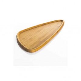 Bambusový servírovací tanier Bambum Viego Triangle L