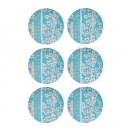 Sada 6 porcelánových tanierov Sema La Fiancúe