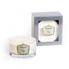 Sviečka s vôňou vanilky Bahoma Gift, 40 hodín horenia