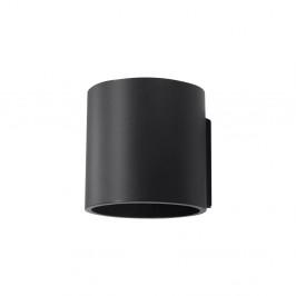 Čierne nástenné svietidlo Nice Lamps Roda